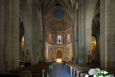 Église_Saint-Pierre-et-Saint-Phébade_de_Venerque_Vue_de_l'intérieur