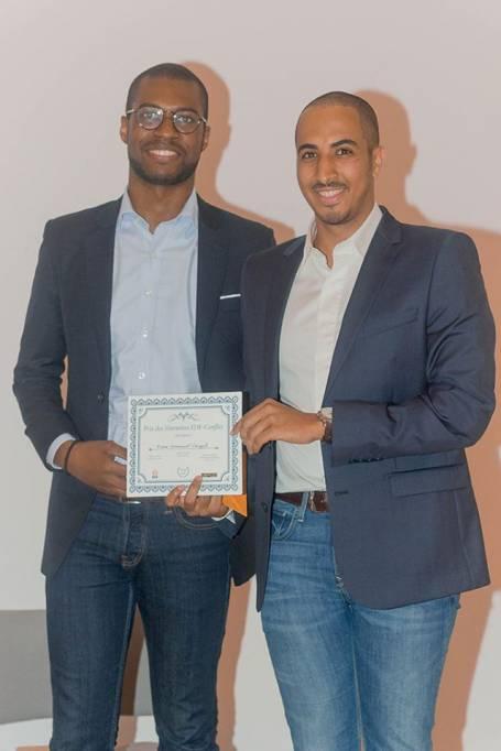 Pierre-Emmanuel Cangah et Lionel Bianquis