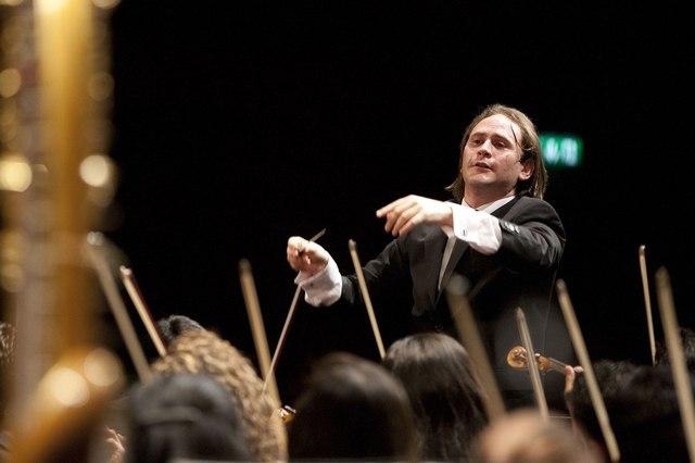 Orchestre Teresa Carreño des jeunes du Venezuela placé sous la direction de Christian Vásquez.