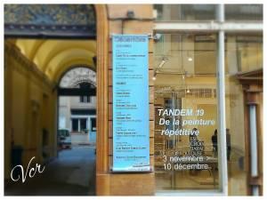 La vitrine emblématique de la Galerie.