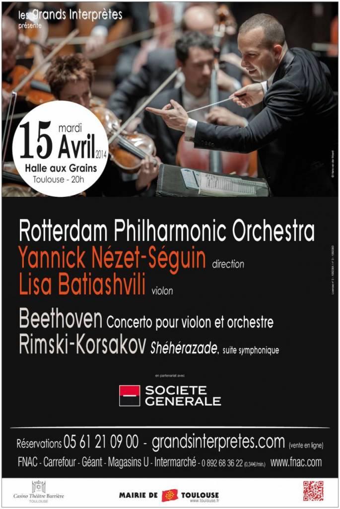Rotterdam Philharmonic Orchestra - Yannick Nézet-Séguin (direction)
