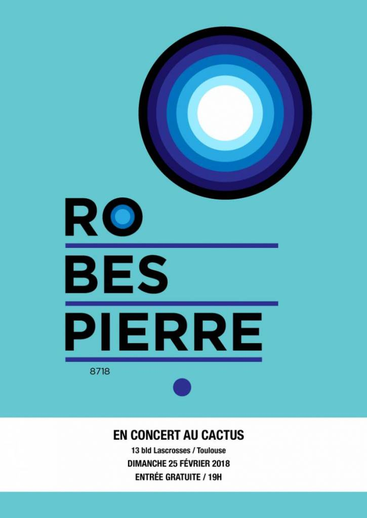 Affiche Robespierre Cactus