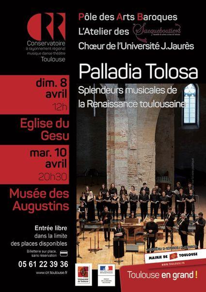 Sacqueboutiers 2018 Palladia Tolosa