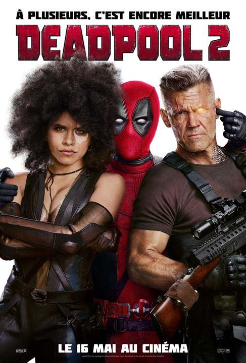 Deadpool 2 Affiche
