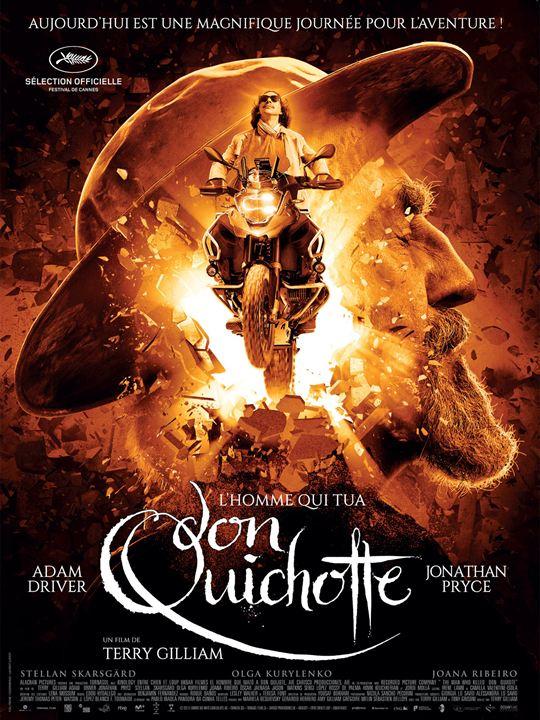 L'homme Qui Tua Don Quichotte Affiche