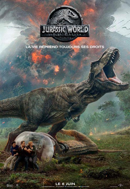 Jurassic Fallen Kingdom Affiche