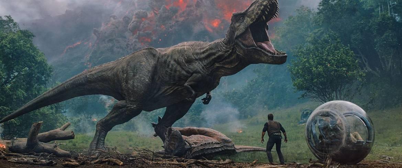 Jurassic Fallen T Rex