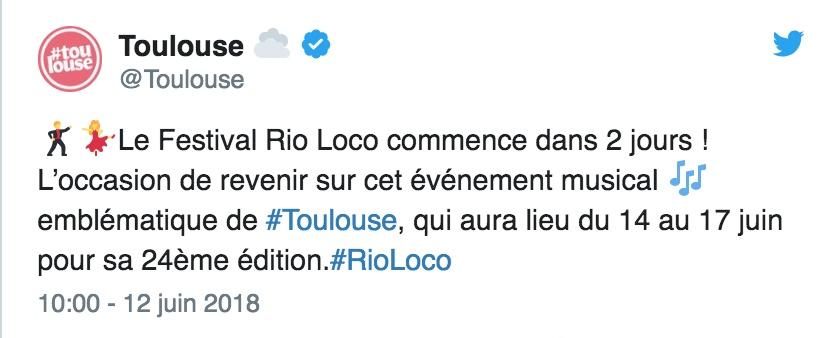 Toulouse Rio Loco