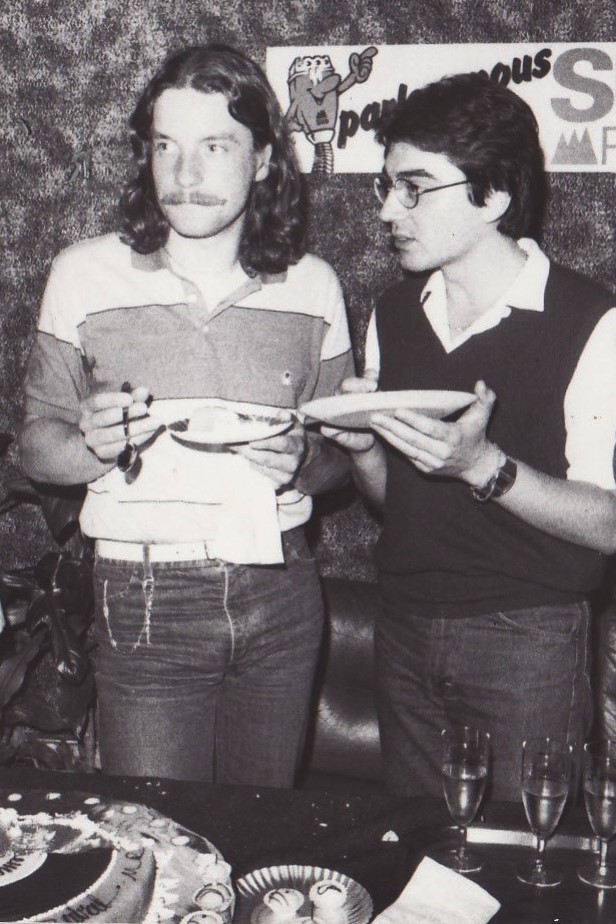 Francis Cabrel et Richard Seff