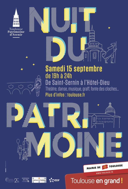 Nuit Du Patrimoine Affiche
