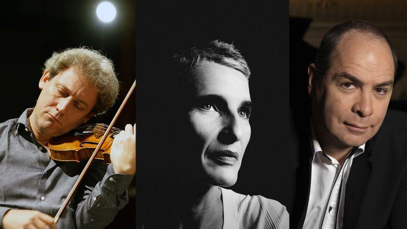 David Grimal, violon, Anne Gastinel, violoncelle et Philippe Cassard, piano seront à l'auditorium Saint-Pierre des Cuisines le 16 novembre à 20 h 30
