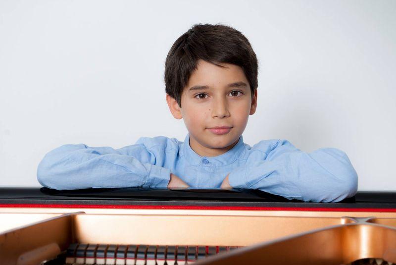 Le jeune pianiste Constant Després