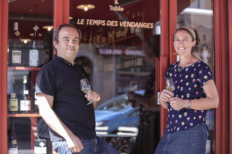 Eric et Amandine Cuestas