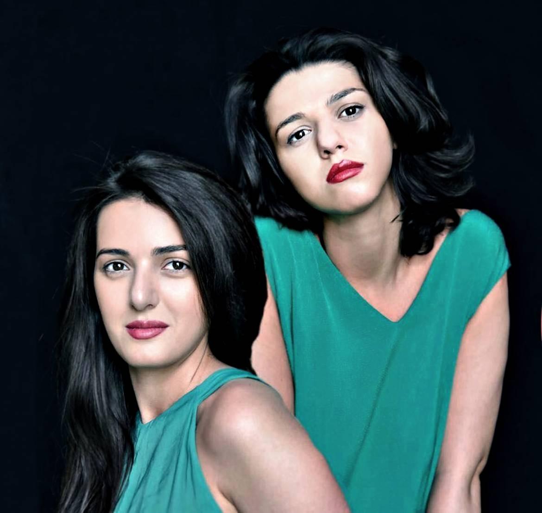 Khatia et Gvantsa Buniatishvili - Photo Gela Megrelidze -