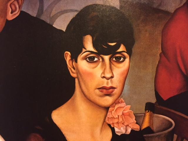 "Christian SCHAD – ""Sonja""(detail) 1928"