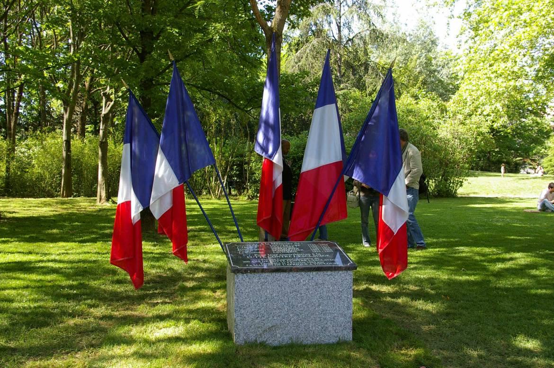 Stèle Toussaint Louverture - Jardin Compans Caffarelli (Toulouse)