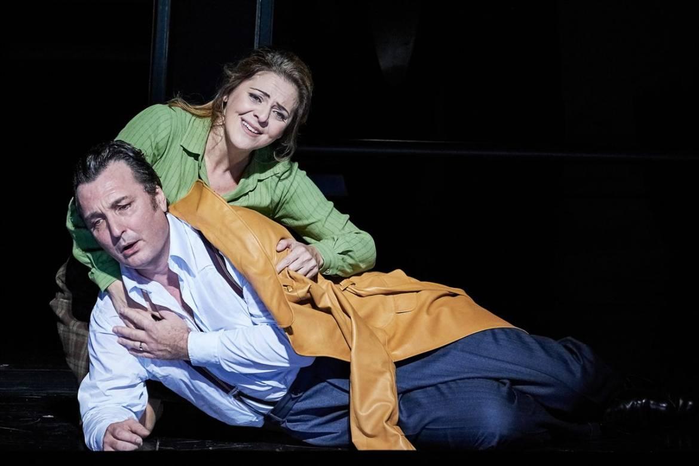 Ludovic Tézier (Simon Boccanegra) Maria Agresta (Maria Boccanegra) © Agathe Poupeney / ONP