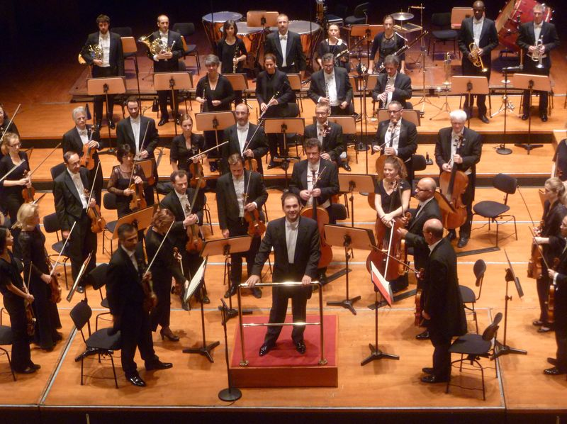 Tugan Sokhiev à la tête de l'Orchestre national du Capitole © Classictoulouse