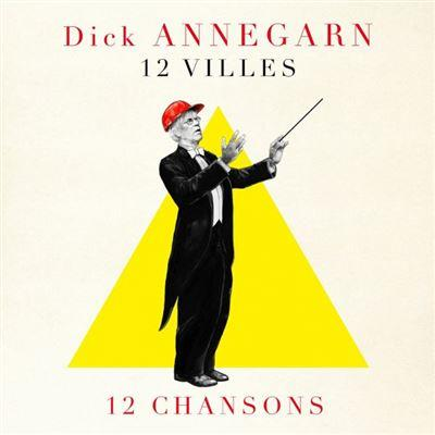 Cover 12 Villes 12 Chansons