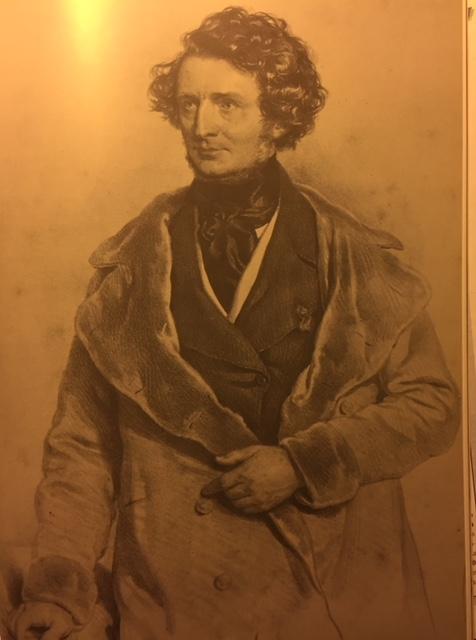 Berlioz par Josef Kriehuber