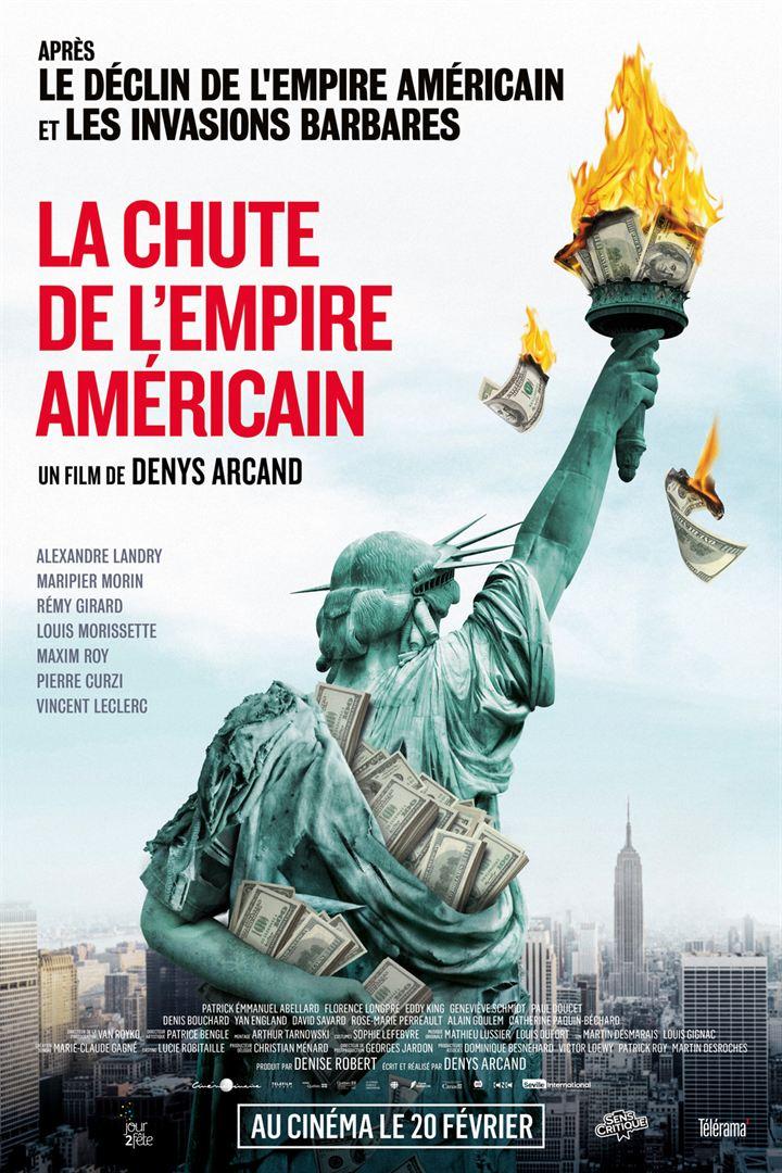 Chute Empire Américain Affiche