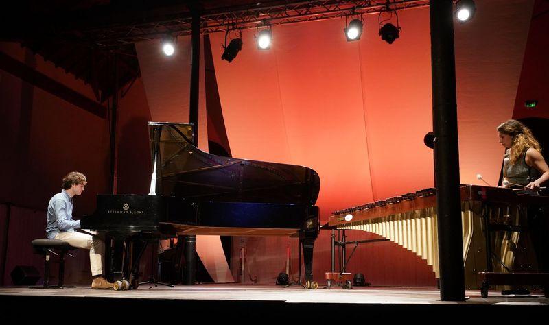 Thomas Enhco et Vassilena Serafimova en concert