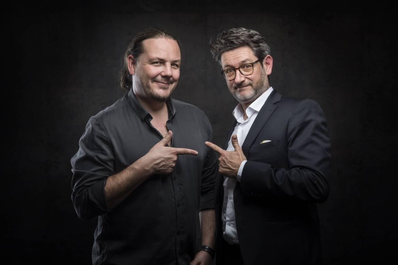 Pierrot Corpel et Thierry Lafforgue