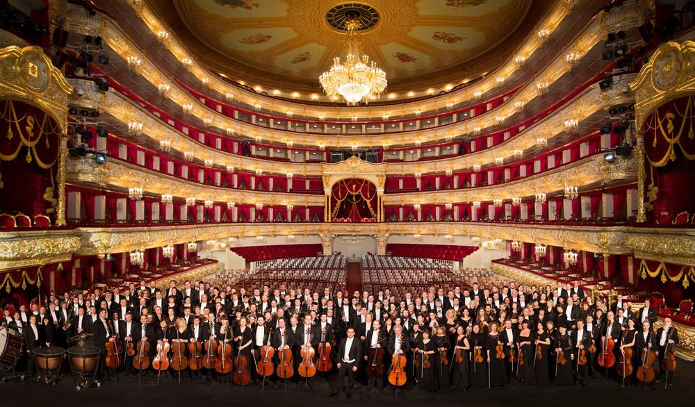 L'Orchestre et le Chœur du Théâtre Bolchoï, sous la direction de Tugan Sokhiev