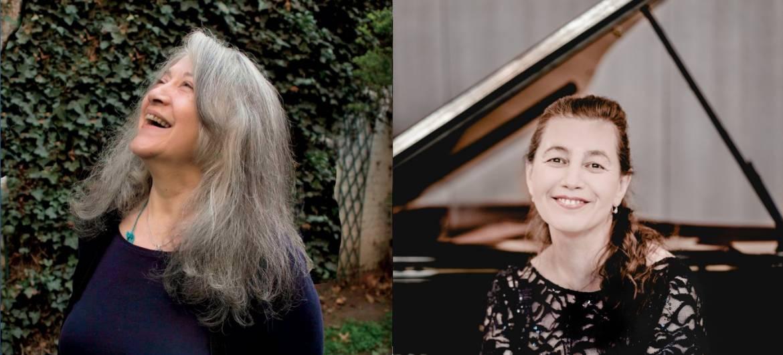 Martha Argerich et Lilya Zilberstein