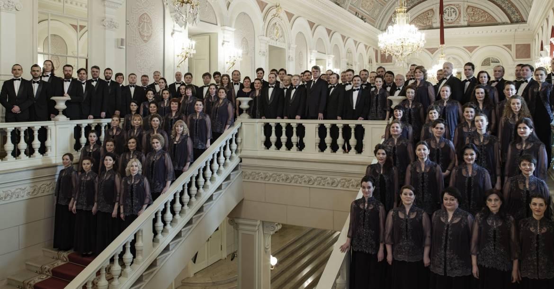 Le Chœur du Bolchoï sous la direction de Valery Borisov - Photo Damir Yusupov -