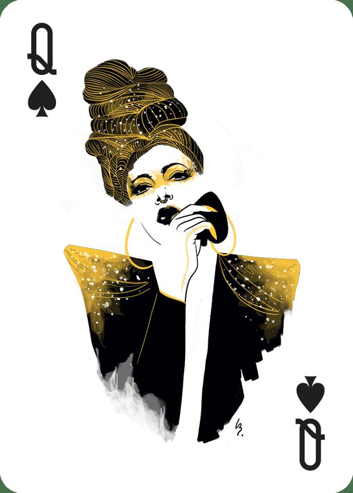 Dame de Pique • Léna Bousquet