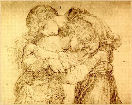 La Damoiselle élue - Rossetti Archive