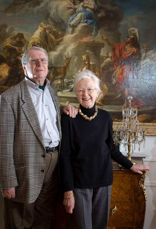Héléna et Guy Motais de Narbonne © Christophe Camus