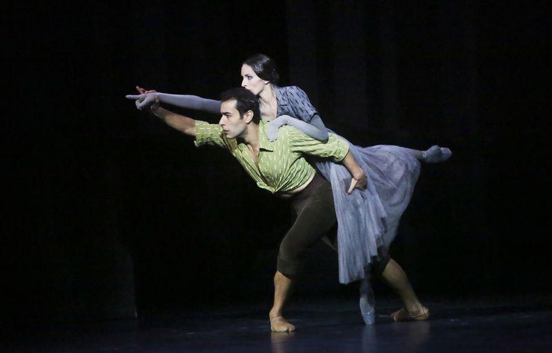 Mirages, de Serge Lifar : Davit Galstyan et Julie Charlet © David Herrero