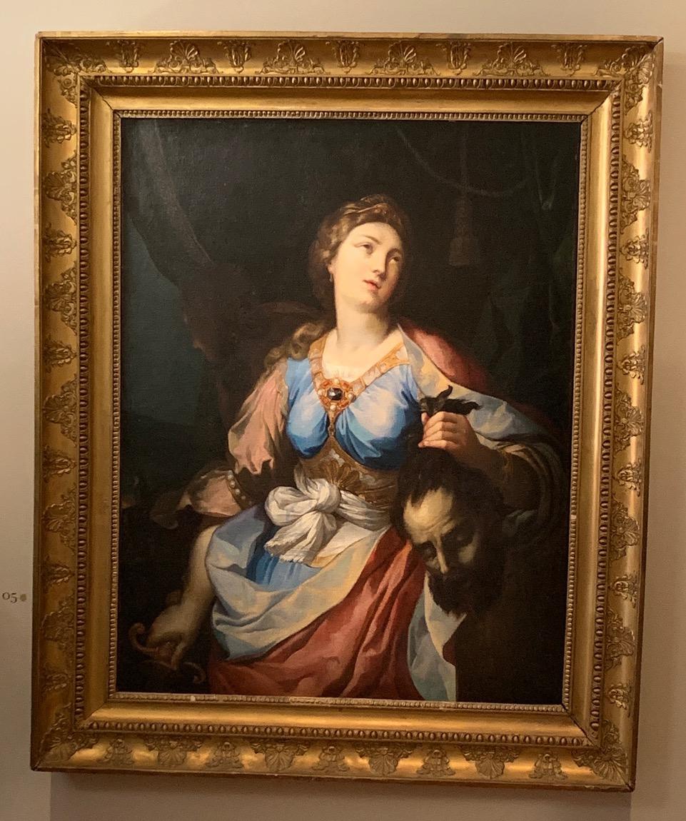 Judith et Holopherne de Ludovico Mazzanti - exposition temporaire à la Fondation Bemberg - Collection Motais de Narbonne