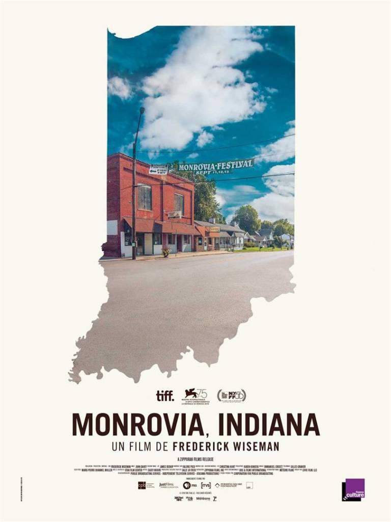Monrovia, Indiana Copyright Météore Films Affiche