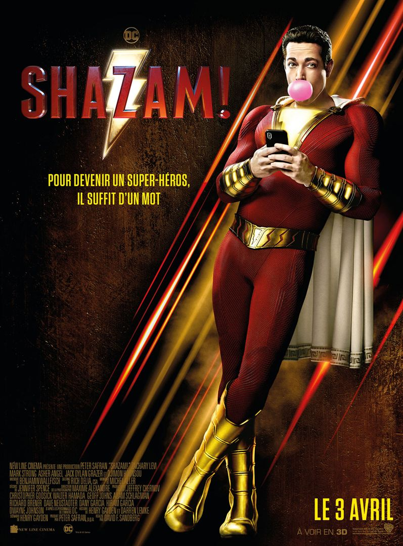 Shazam Affiche