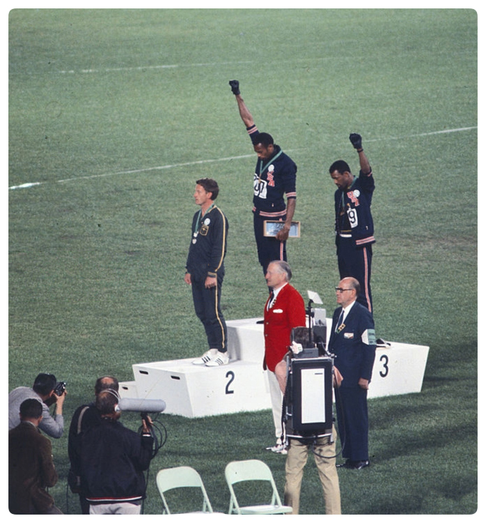 John Carlos Tommie Smith Peter Norman