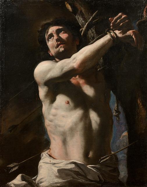Mattia Preti Saint Sebastien