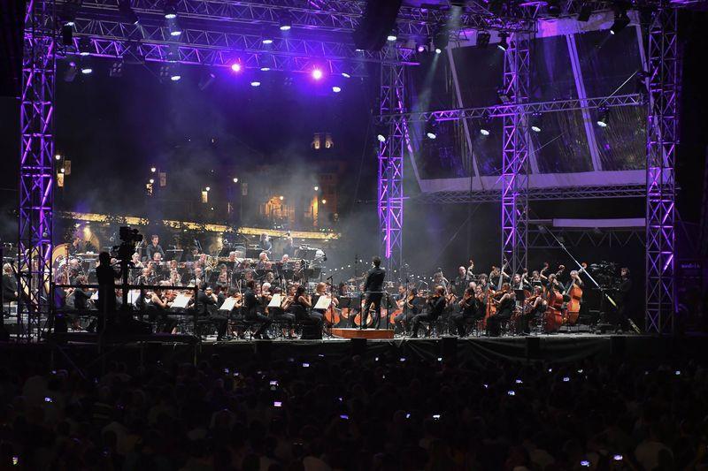 Orchestre CapitoleL'Orchestre national du Capitole à la Prairie des filtres en 2018 - Photo Romaric Pouliquen -