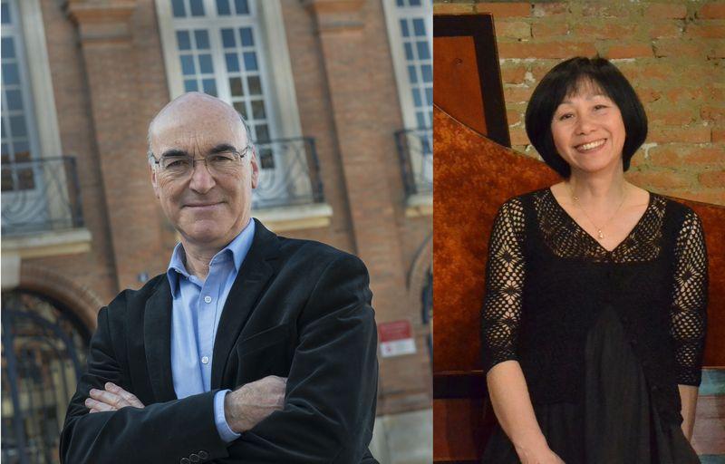 Jean-Marc Andrieu et Yasuko Uyama-Bouvard