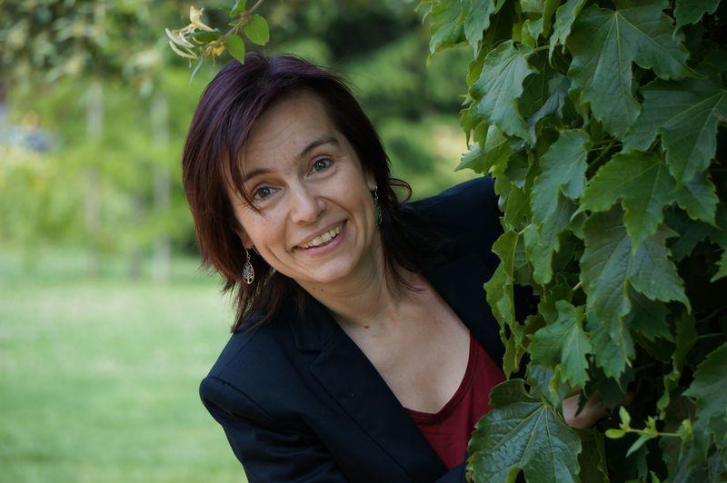 La récitante Solange Bazely - Photo Daniel Marc -
