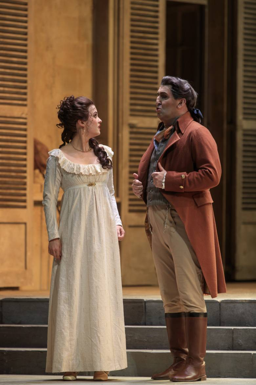 Florie Valiquette (Sophie) et André Heyboer (Albert)