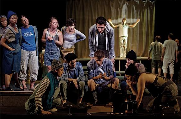 Dario Fo Mistero Buffo A Bout De Souffle Critique Opera Classiquenews Theatre Jules Julien Juin 2019