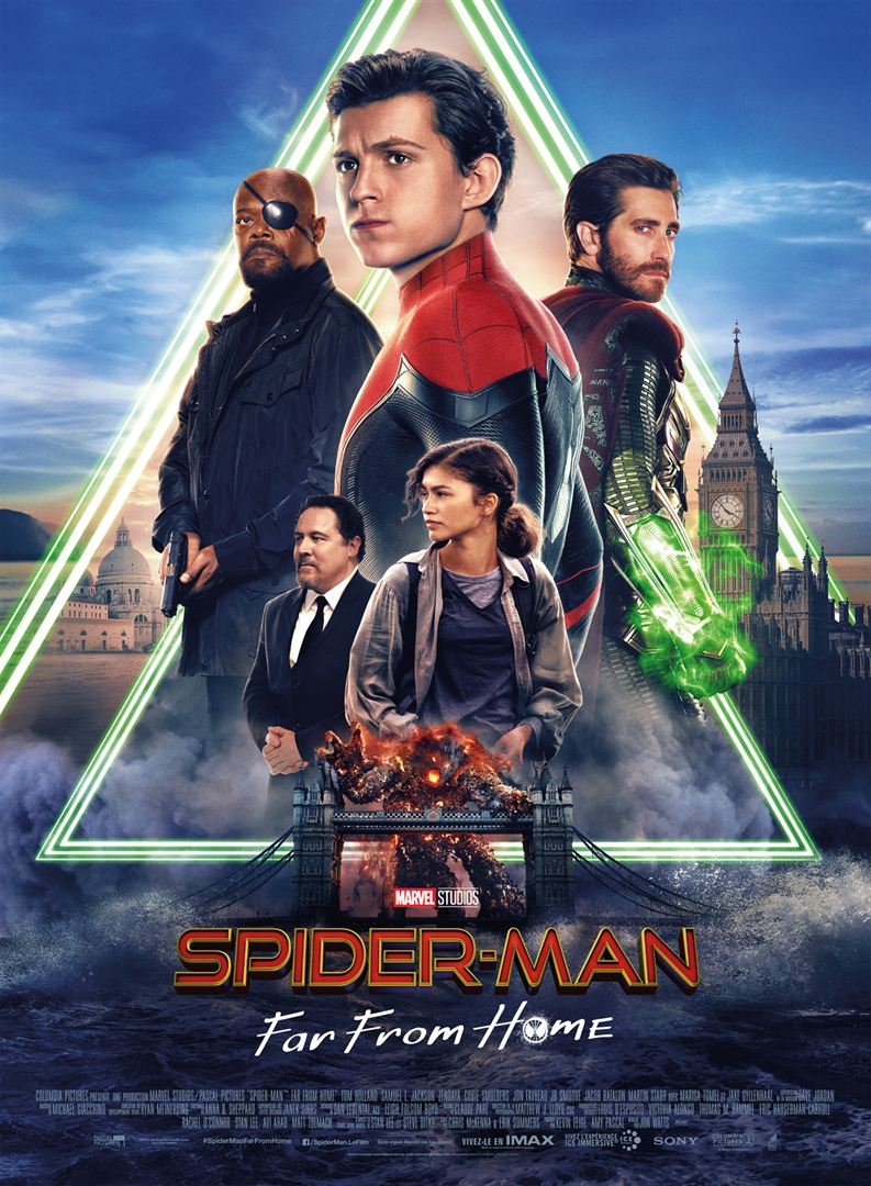 Spiderman Ffh Affiche