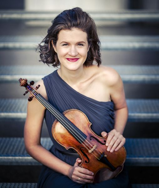 La violoniste Elsa Grether - Photo Clara Beck -