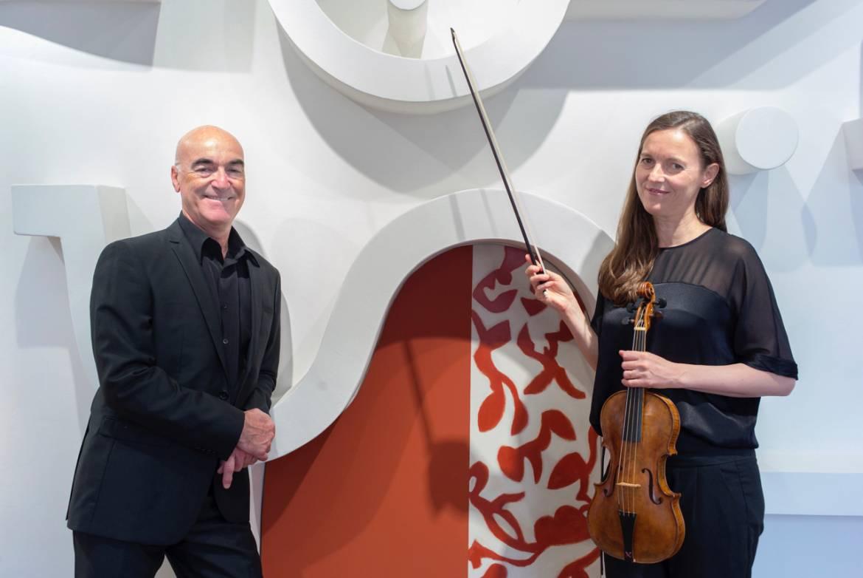 Jean-Marc Andrieu et Stéphanie Paulet © JJ.Ader