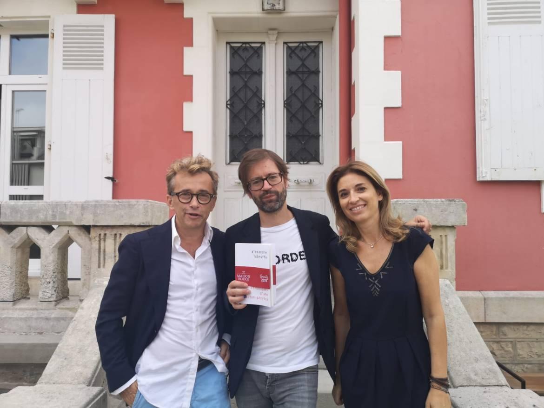 Céline et Guillaume Farré avec Alexandre Labruffe