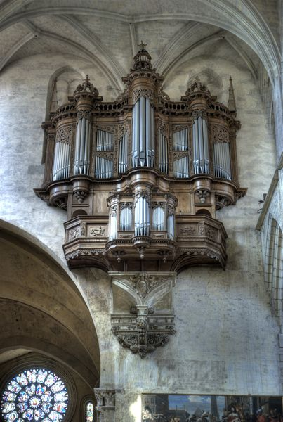 Le grand orgue de la cathédrale Saint-Etienne