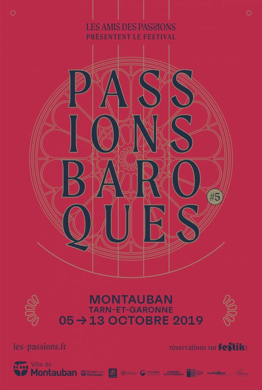 Passions Baroques Affiche